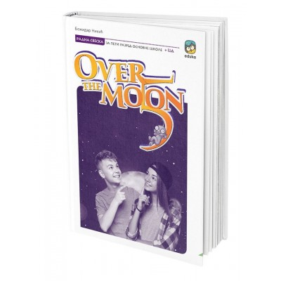 Engleski jezik - Over the moon 5 - radna sveska