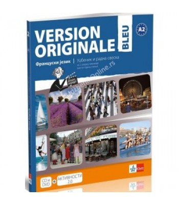 Version originale bleu - francuski jezik 2, francuski jezik za drugi razred gimnazije *NOVO