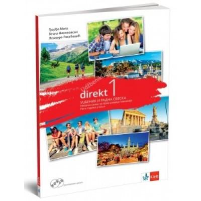Direkt 1 - udžbenik i radna sveska za 1.razred gi...