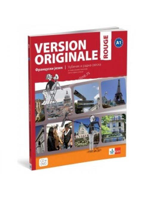 Version originale rouge , udžbenik i radna sveska...