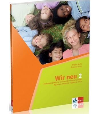 WIR NEU 2, udžbenik +CD - nemački jezik za 6. razred