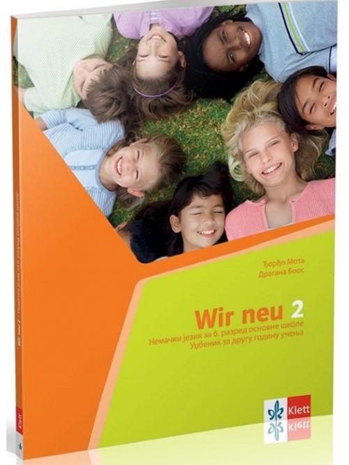 WIR NEU 2, udžbenik +CD - nemački jezik za 6. ra...