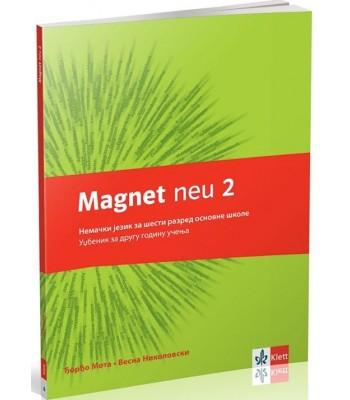 Magnet neu 2 - udžbenik + cd, nemački jezik za 6.razred