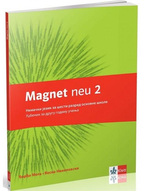Magnet neu 2 - udžbenik + cd, nemački jezik za 6...