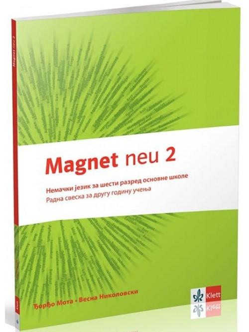 Magnet neu 2 - radna sveska + cd, nemački jezik z...