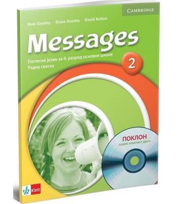 "Engleski jezik 6, radna sveska ""Messages 2"" + CD"