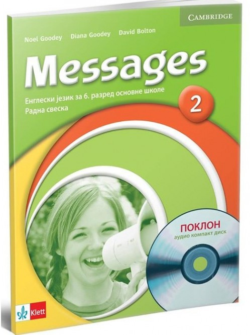 "Engleski jezik 6, radna sveska ""Messages 2"" + ..."