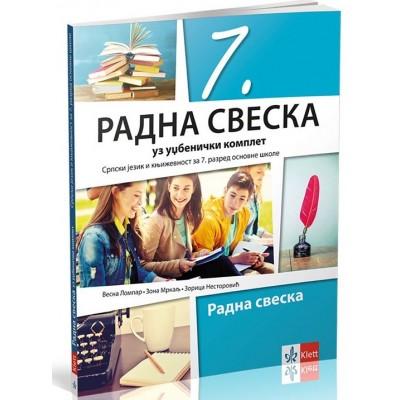 Srpski jezik i književnost 7, radna sveska uz ud�...
