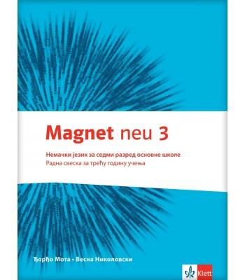 "Nemački jezik 7, radna sveska ""Magnet NEU 3"" + CD"