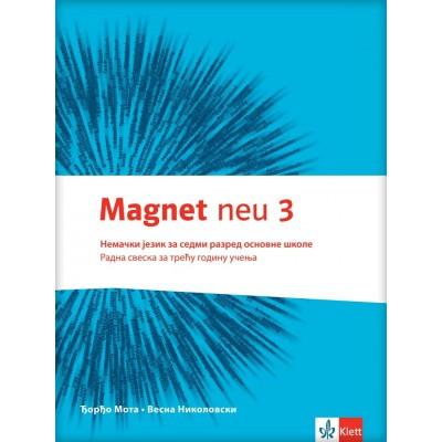 "Nemački jezik 7, radna sveska ""Magnet NEU 3"" ..."