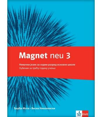 "Nemački jezik 7, udžbenik ""Magnet NEU 3"" + CD"