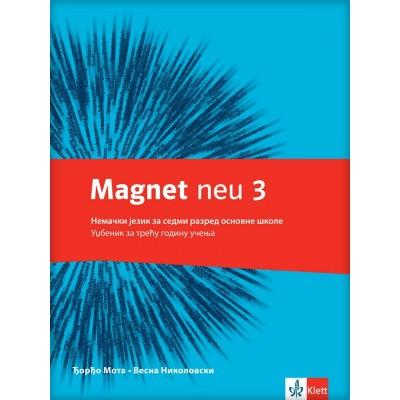 "Nemački jezik 7, udžbenik ""Magnet NEU 3"" + C..."
