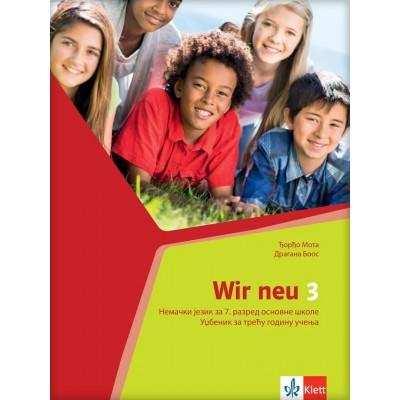 "Nemački jezik 7, udžbenik ""WIR NEU 3"" + CD"