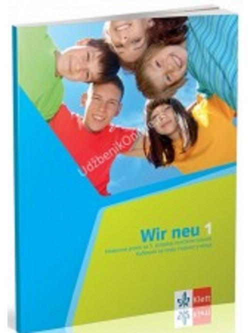 """Nemački jezik, udžbenik """"WIR 1"""" NEU+ CD za 5..."""
