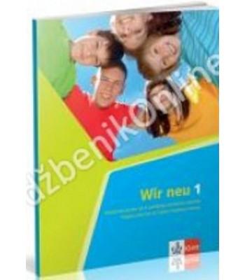 """Nemački jezik 5, radna sveska """"WIR 1"""" NEU"""