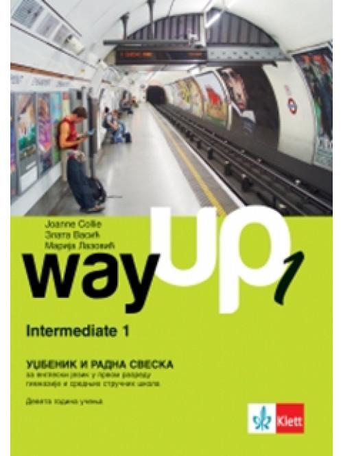 Way up 1, udžbenik i radna sveska STARO