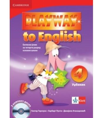 """Engleski jezik 4, udžbenik """"Playway to English 4"""""""
