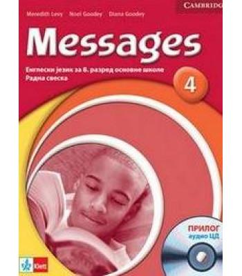 "Engleski jezik 8, radna sveska ""Messages 4"" + CD"