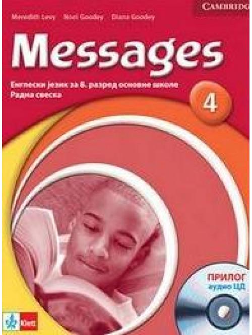 "Engleski jezik 8, radna sveska ""Messages 4"" + ..."