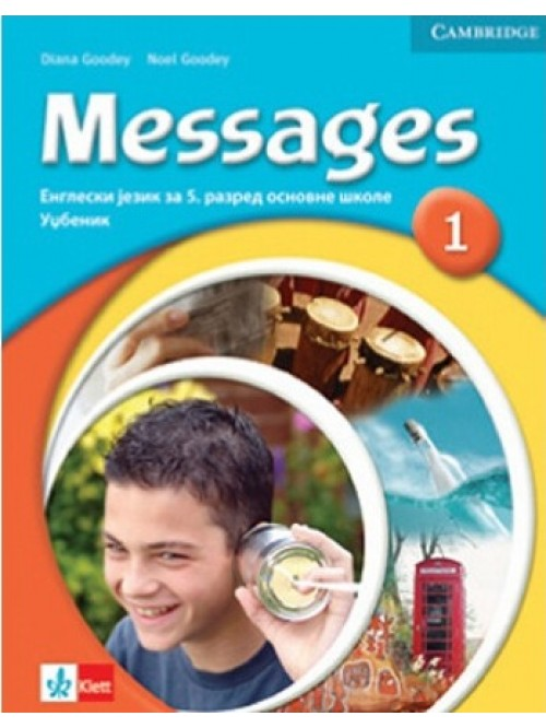 "Engleski jezik 5, udžbenik ""Messages 1""iz eng..."