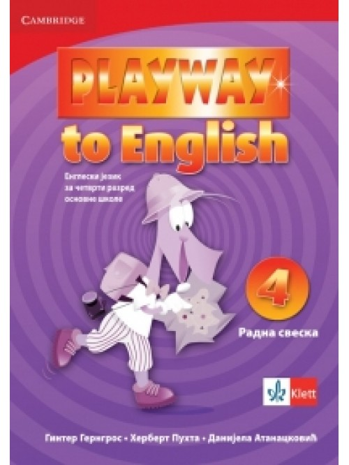 "Engleski jezik 4, radna sveska ""Playway to Engli..."