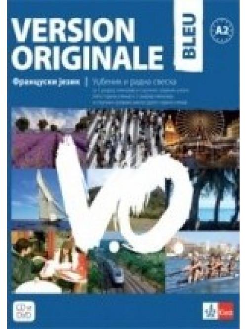 Version originale bleu, udžbenik i radna sveska z...