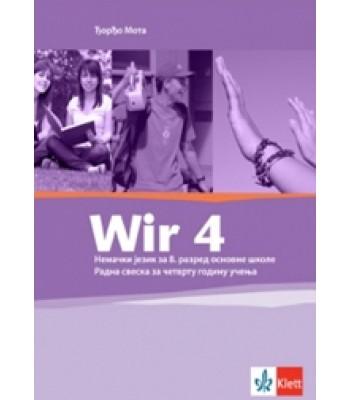 "Nemački jezik 8, radna sveska ""WIR 4"""