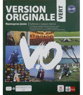 Version originale vert, udžbenik i radna sveska ZA III razred