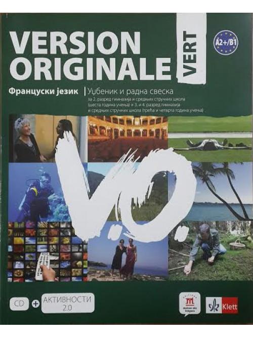 Version originale vert, udžbenik i radna sveska Z...