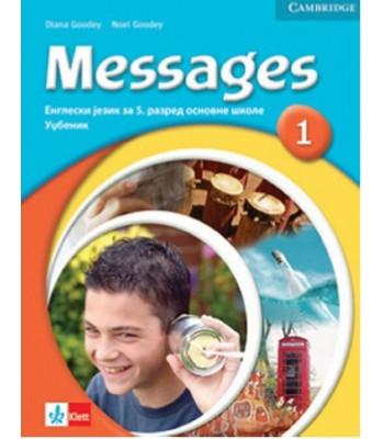 "Engleski jezik 5, radna sveska ""Messages 1"" + CD iz engleskog jezika"