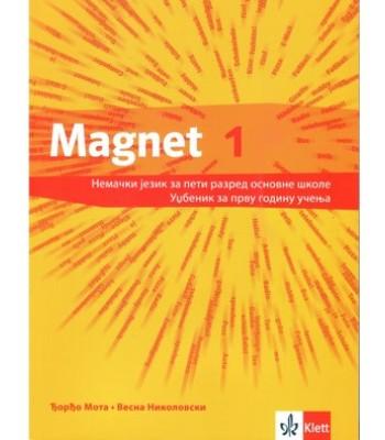 """Nemački jezik udžbenik """"Magnet 1 NEU"""" + CD za 5. razred osnovne škole!"""