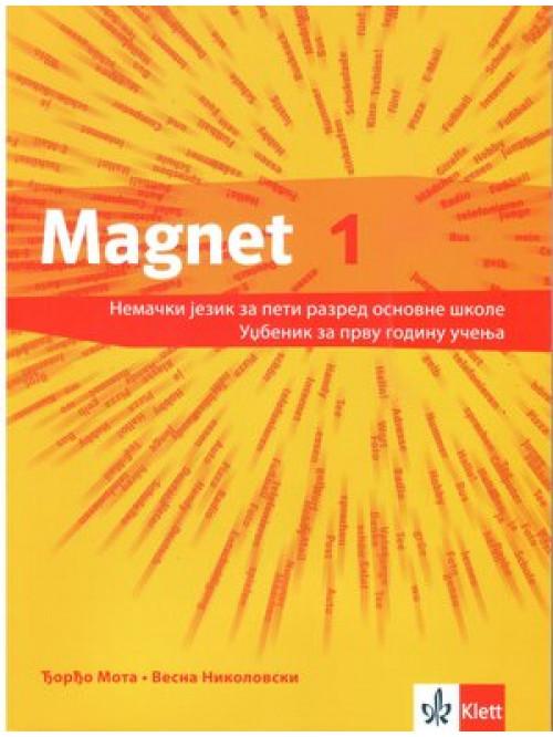 "Nemački jezik udžbenik ""Magnet 1 NEU"" + CD z..."